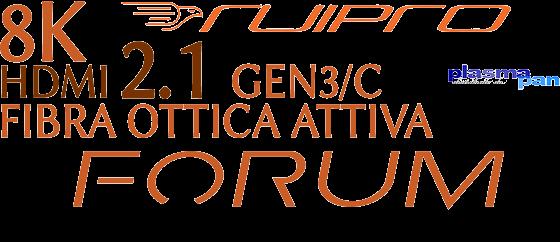 RUIPRO 8K - 4K GEN3/C HDMI2.1 FORUM